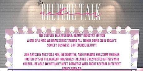 Artistry NYC Presents:  Culture Talk Webinar tickets
