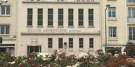 Culte d'adoration adventiste à Angers billets