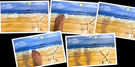 """SPECIAL PRICING Design Your """"Footprints in the Sand"""" Adult Open (18yrs+) tickets"""