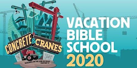 Vacation Bible School 2020 tickets
