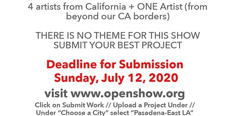 Pasadena Photography Arts Presents Open Show #33 tickets