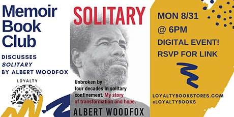 Memoir Book Club discusses SOLITARY tickets