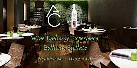 Bollicine Stellate - Wine Embassy @ Aqua Crua 11.07.2020 tickets