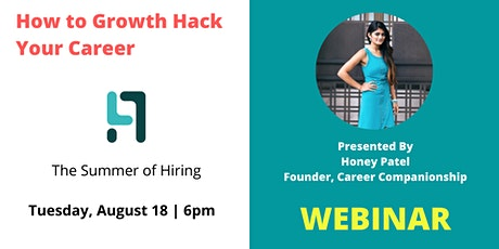 How to Growth Hack Your Career tickets