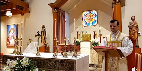 Indoor Mass at Church of the Holy Spirit - July 4 & 5 tickets