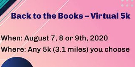 Antioch Library Friends - Back to The Books Virtual 5k tickets