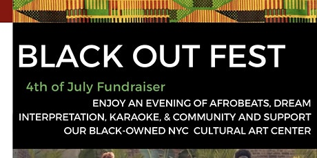 BLACK OUT FEST: Afrobeats, Karaoke, Open Bar & Community tickets