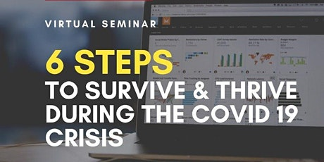 6 Steps to Survive and Thrive During the Covid 19 Crisis tickets