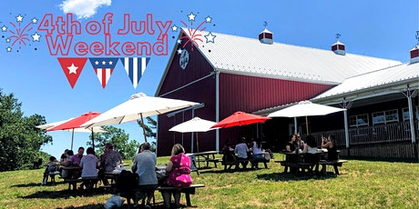 Winery Reservations (Free) July 4th 4:30-6:30pm tickets