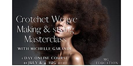 Crotchet Weave Making & Styling Masterclass tickets