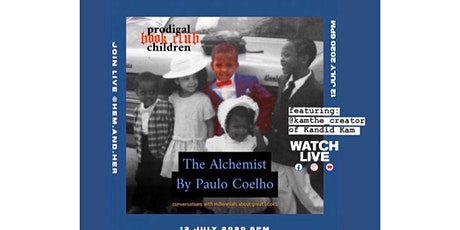 Prodigal Children Book Club: The Alchemist by Paulo Coelho tickets