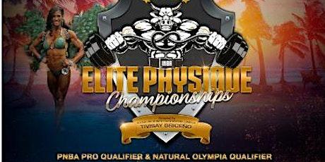 2020 INBA Elite Physique Championships - Natural Bodybuilding tickets