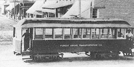 Copy of Let's Talk Trolleys: Lost Oregon Streetcars biglietti