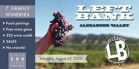 Left Bank Alexander Valley 2020 tickets