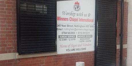 Winners Chapel Sunday Service 1 tickets