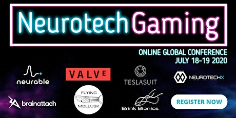 NeurotechGaming 2020 conference: Connecting your brain to video games tickets