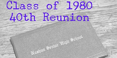 NHS Class of 1980 - 40th Reunion tickets