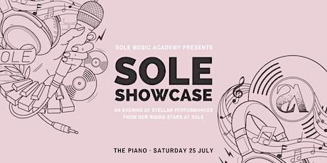 SOLE Showcase tickets