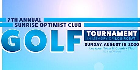 7th Annual Sunrise Optimist Golf Tournament in Memory of Lou Rosati tickets