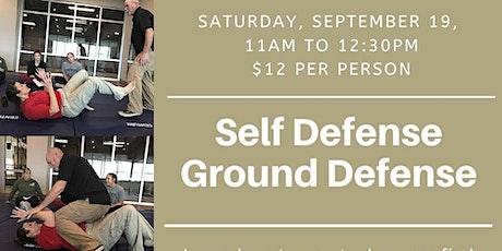 Self Defense Ground Defense tickets