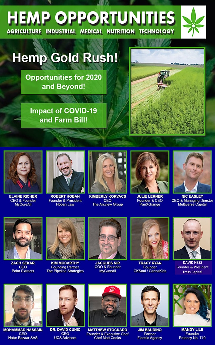 Hemp Opportunities Speaker & Investor Pitch Competition image