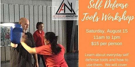 Self Defense Tools Workshop tickets