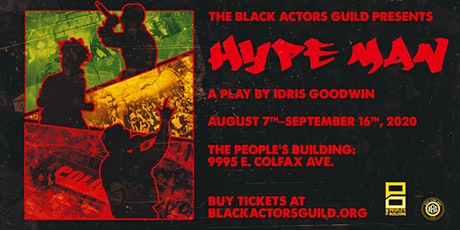 Hype Man: Presented by the Black Actors Guild tickets
