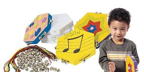 Make your own tambourine school holiday workshop all ages tickets
