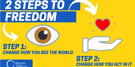 (ONLINE) 2 Steps to Freedom tickets