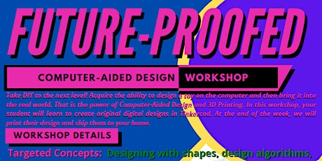 Future-Proofed: Computer-Aided Design tickets