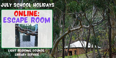 South Australian - Online Escape Room @ Light Regional Library Service tickets