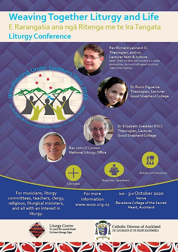 Weaving Together Liturgy & Life, Liturgy Conference 2020 image