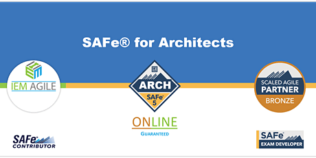 SAFe for Architects (ARCH) - Online Instructor led tickets