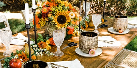 Sunflowers & Sangria, a fall flower workshop tickets