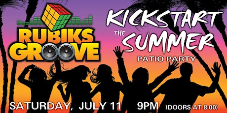 RUBIKS GROOVE VIP Kickstart the Summer Patio Party tickets