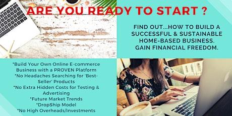 E-COMMERCE HOMEPRENEUR - Online Webinar tickets