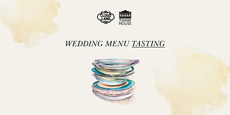 Wedding Menu Tasting tickets