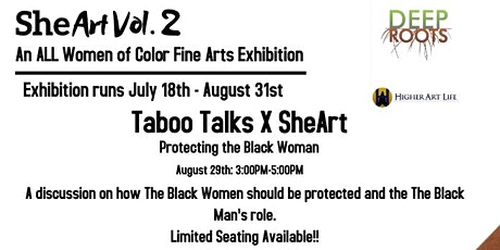 Taboo Talks X SheArt: Protecting the Black Woman tickets