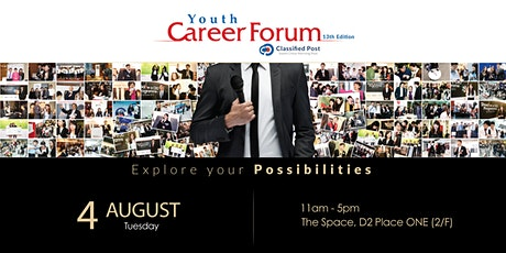 Classified Post Youth Career Forum - 4 August 2020 tickets