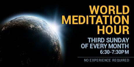 World Mediation Hour in English (Online) tickets