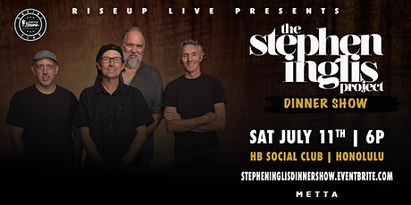 RiseUp Live Presents: Stephen Inglis Dinner Show tickets