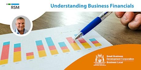 Understanding Business Financials (Geraldton) tickets