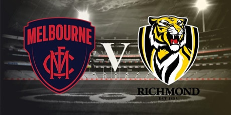 Round 5 - Richmond vs Melbourne - LIVE @ The Cammy tickets
