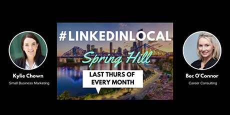 LinkedIn Local Spring Hill  (FACE TO FACE) tickets