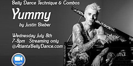 """Belly Dance Technique & Combos """"Yummy - Justin Bieber"""" tickets"""