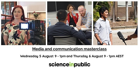 Media and communication masterclass tickets