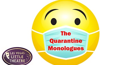 LVLT presents The Quarantine Monologues - Author Preview tickets