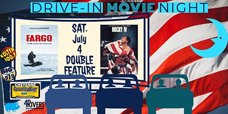 FARGO & ROCKY IV -- Drive-In Double Feature! tickets