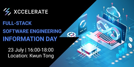 Full-Stack Software Engineering Information Day tickets