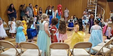 Tea Party with Frozen Belle Ariel Snow White & Cinderella tickets